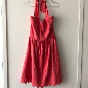 Francesca's Collections Dresses - NWT Francesca's Embroidered Halter Dress!